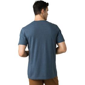 Prana Will Travel Journeyman T-shirt Homme, denim heather